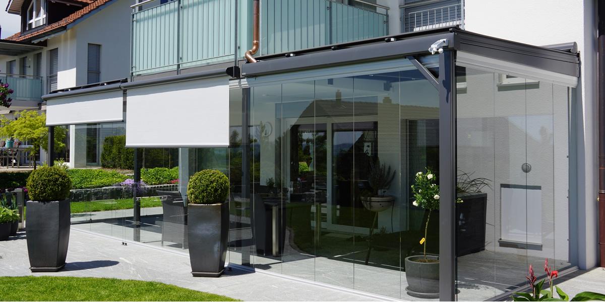 Verglasungen Zurich Sitzplatzverglasung Balkonverglasung